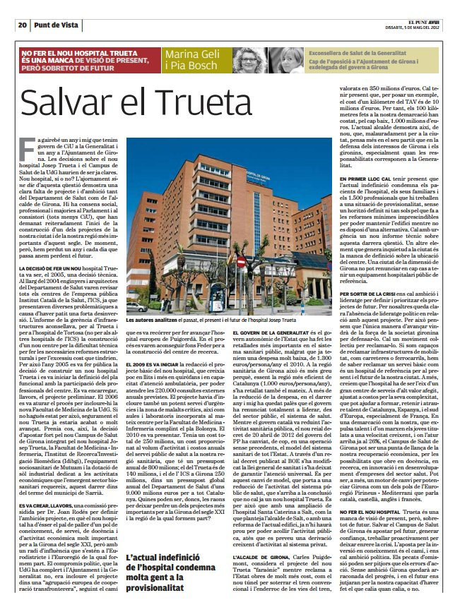 Article Trueta