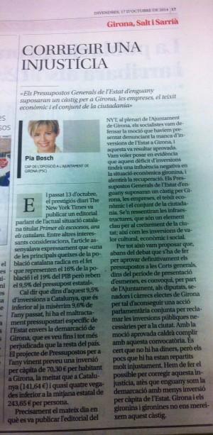 Article Pia 17 octubre 2014